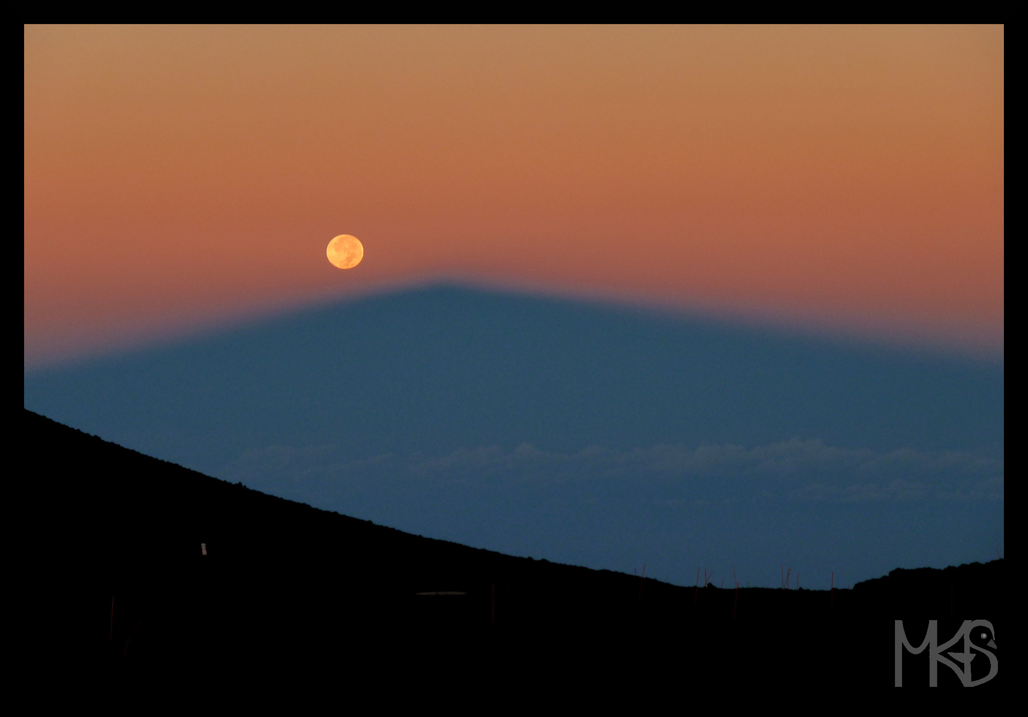 Sunrise from Mauna Kea, Hawaii