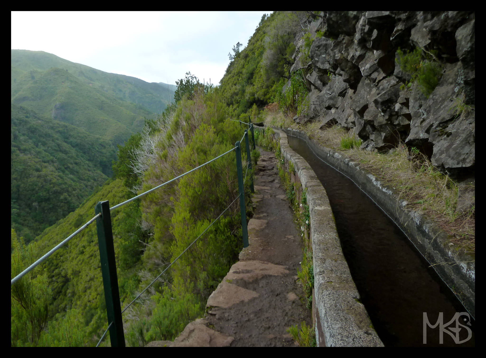 Levada in Paul da Serra, Madeira