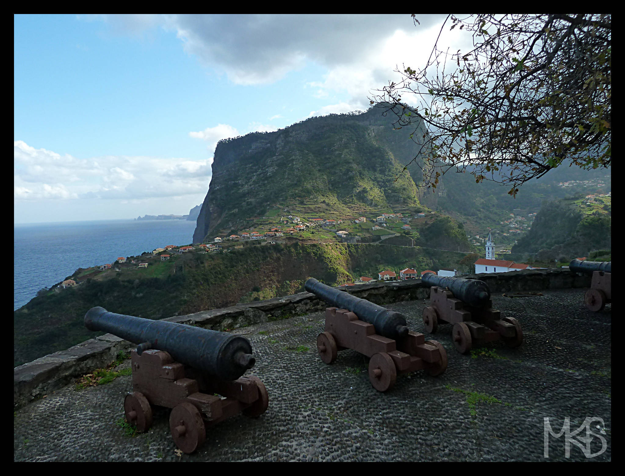 Cannons in Faial, Madeira