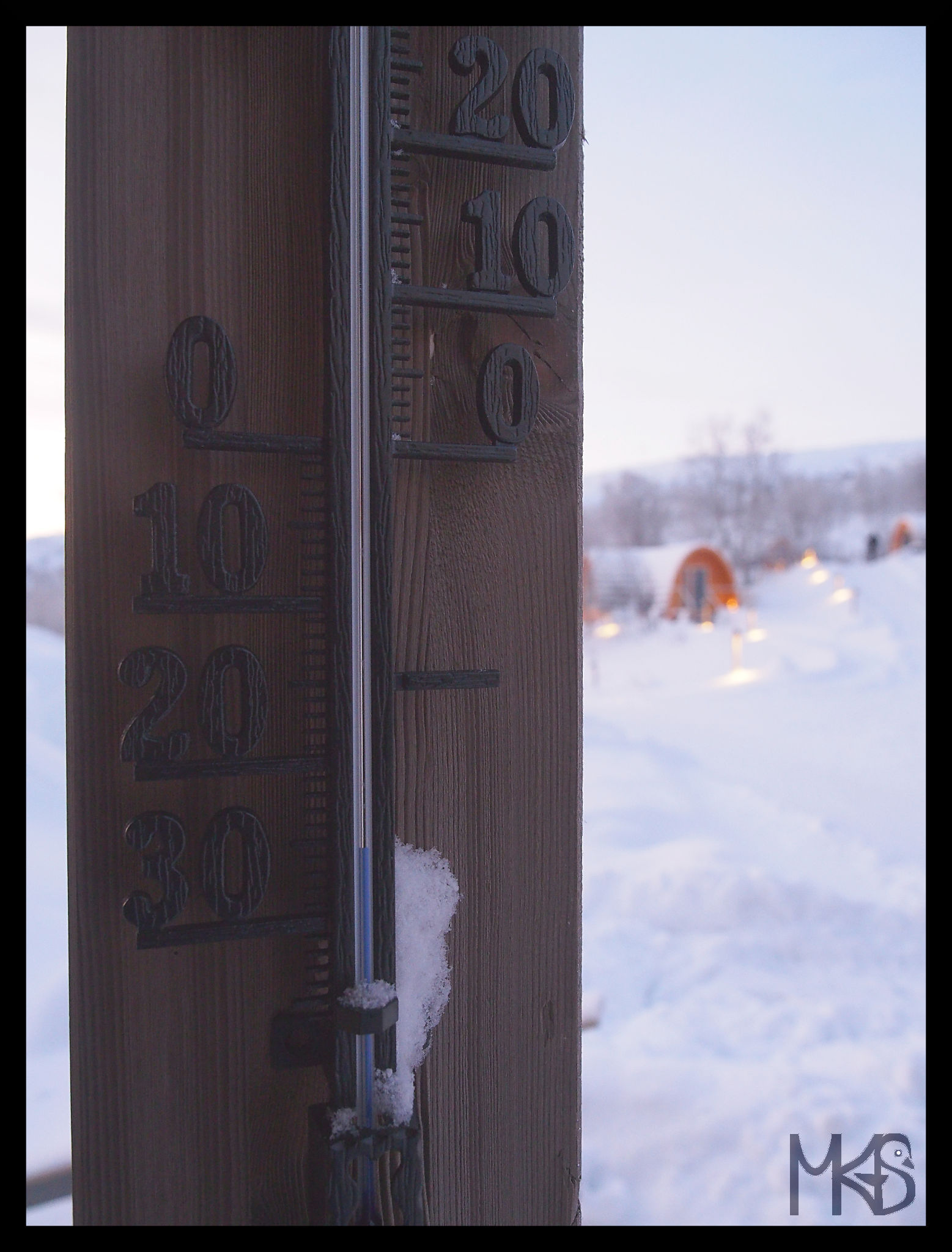Thermometer, Kirkenes