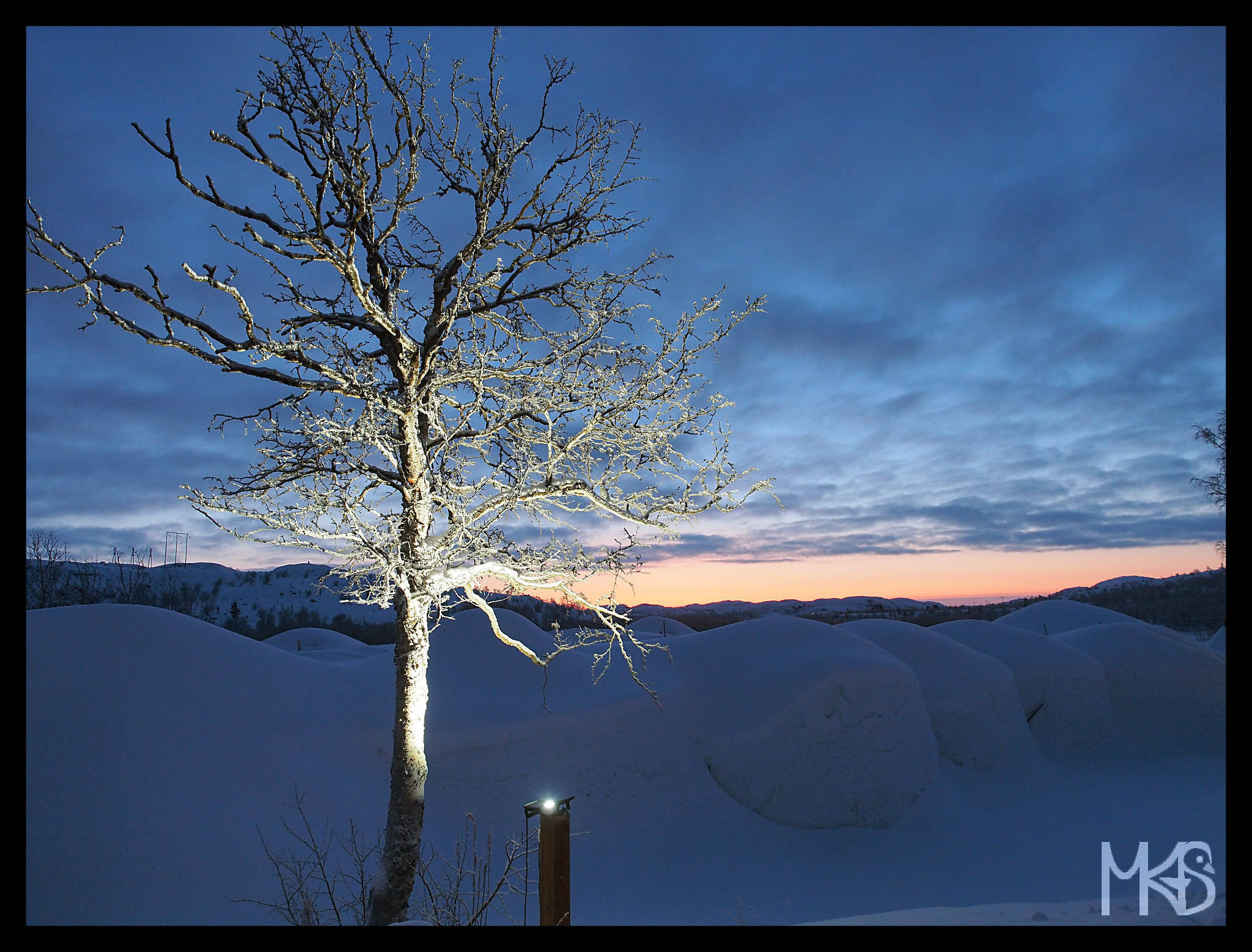 Winter, Kirkenes, Norway