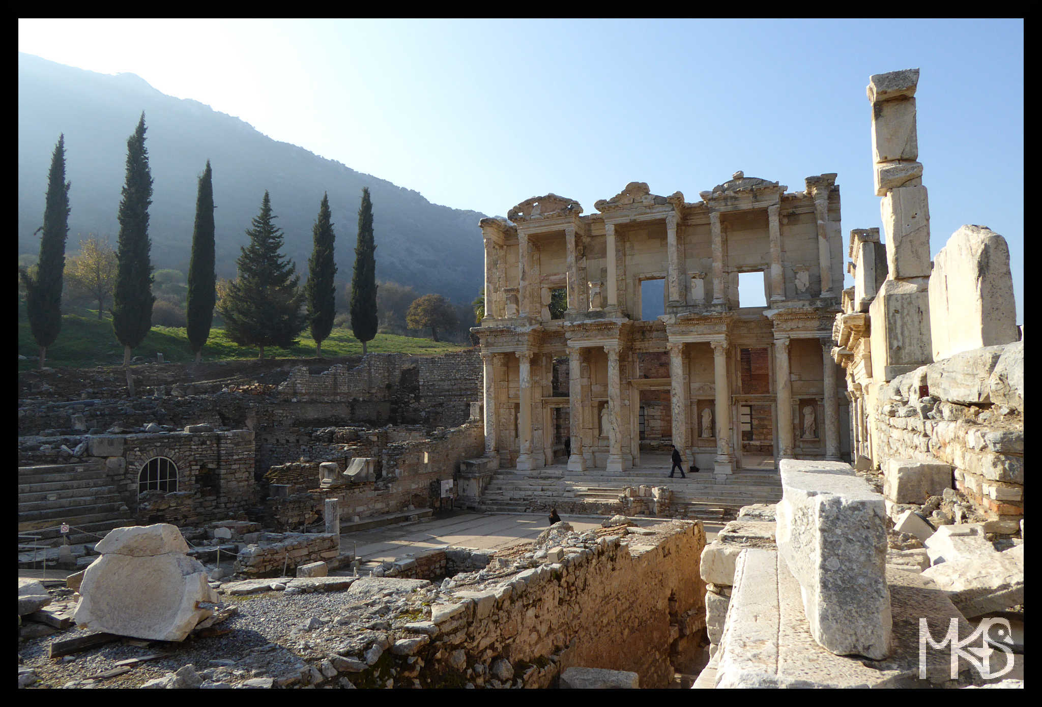 The Library of Celsus, Ephesus, Turkey