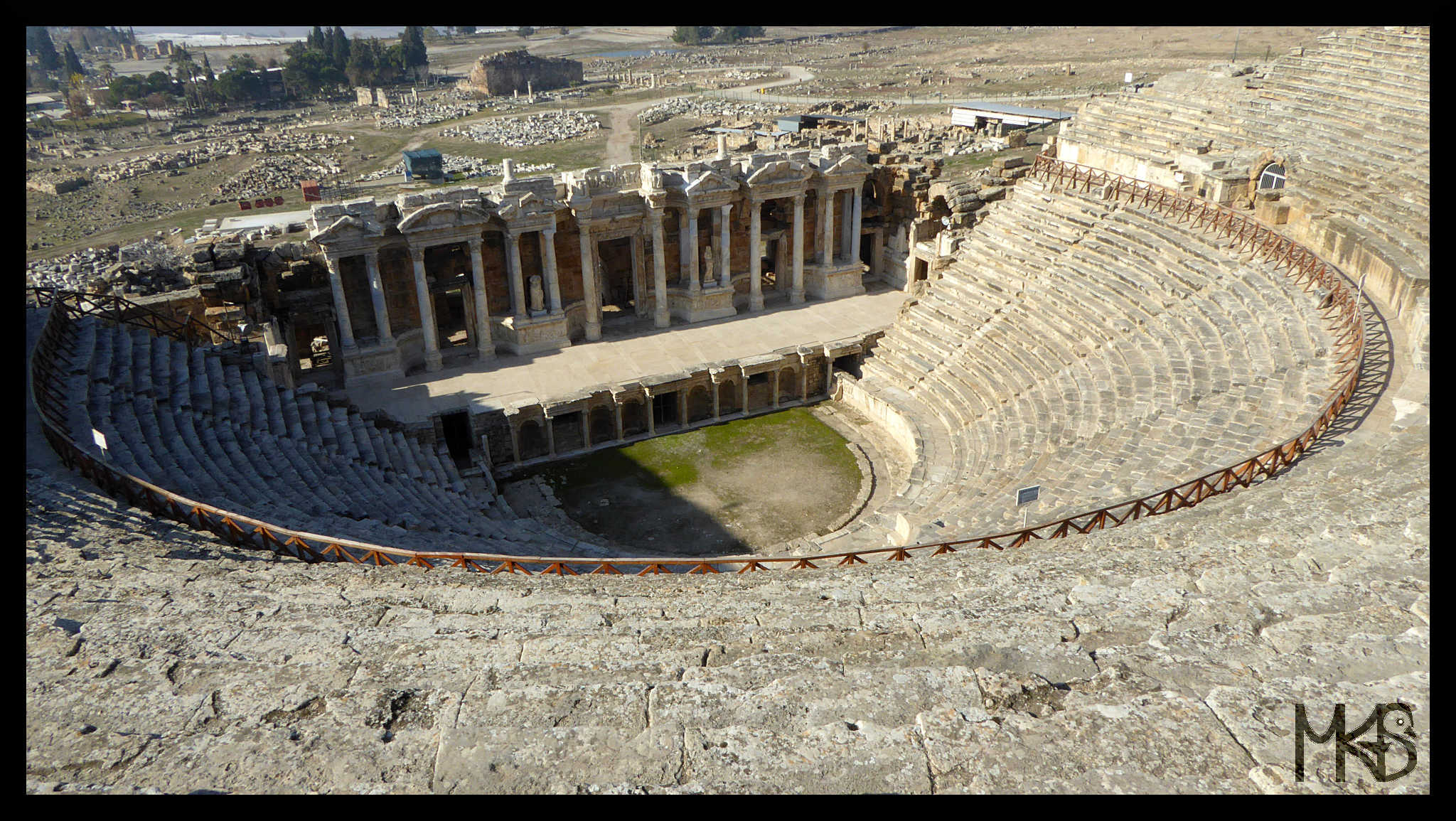 Hierapolis' theature, Turkey