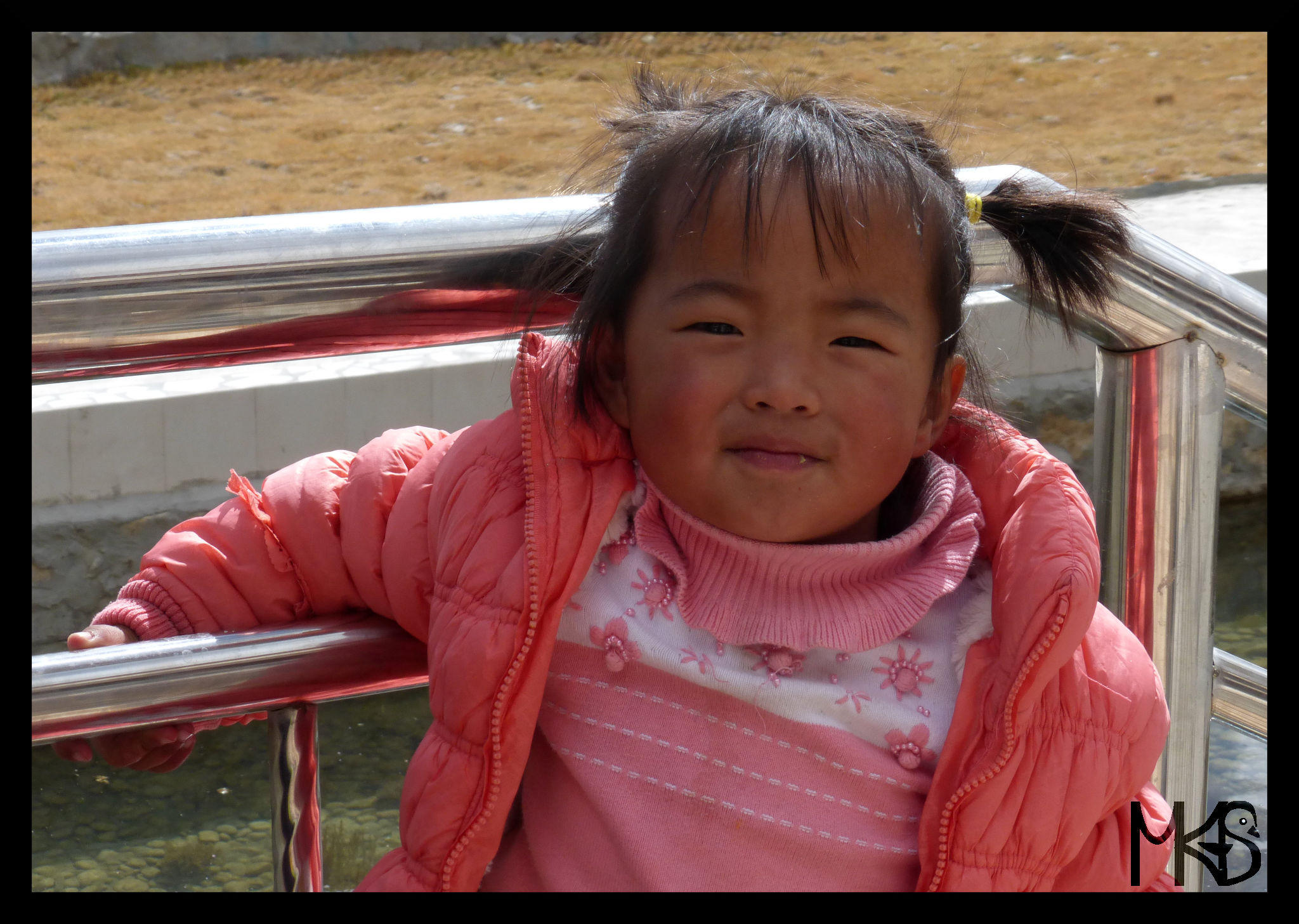 Little girl, Tibet